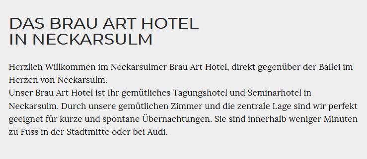 Hotel, Gasthaus für  Nordheim