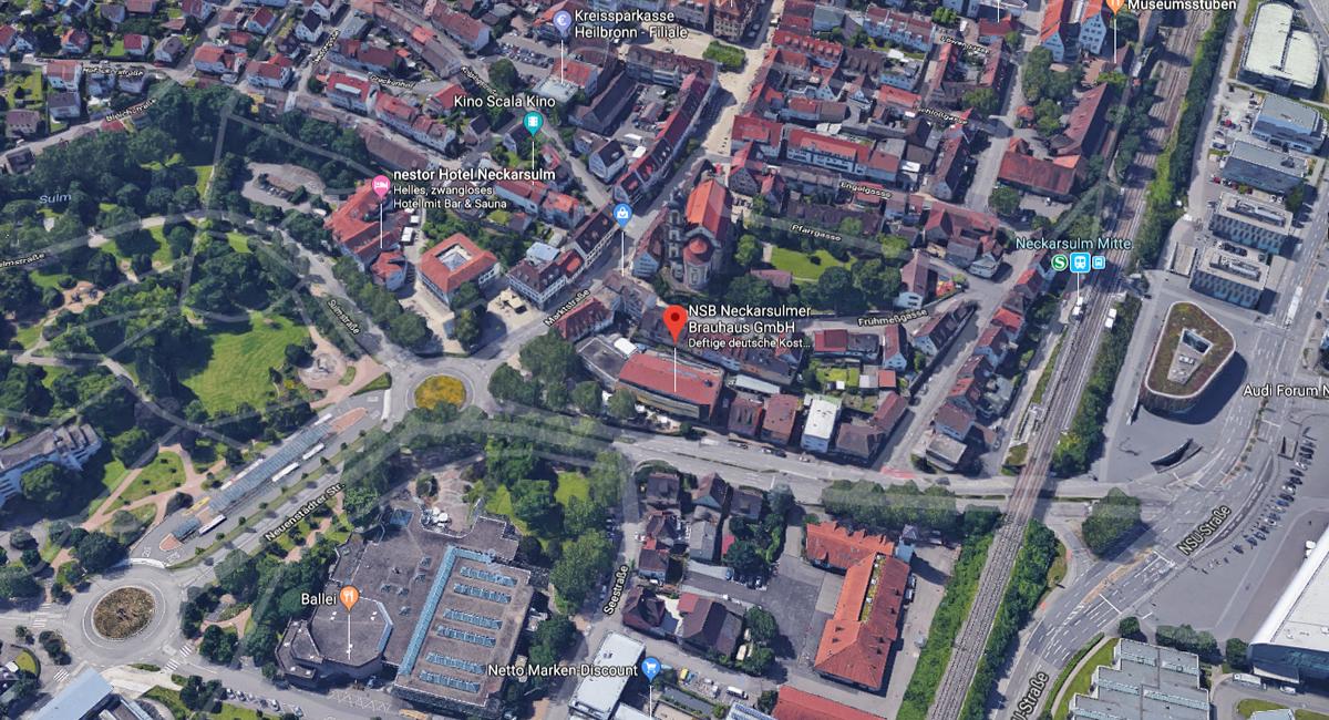 Restaurant in Offenau - BRAUHAUS NSU: Veranstaltungsort, Tagungsräume, Hochzeitslocation, Hotel